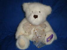 Boyds Plush White Teddy Bear Starlight Vanessa R Angel