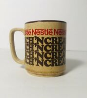 Vintage Nestle Rich Creamy Hot Cocoa Chocolate Small Miniature Mug Cup Japan