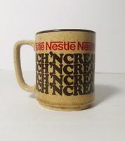 Vintage Nestle Rich Creamy Hot Cocoa Chocolate Small Miniature Mug Cup Japan