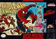 Spider-Man and The X-Men in Arcade's Revenge (Super Nintendo System SNES GAME