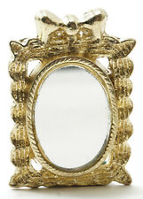 Miniature Dollhouse Ornate Mirror 1:12 Scale New