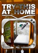 Try This at Home Snowboard DVD Extreme Sports Sugar Shack