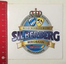 Aufkleber/Sticker: Besucherbergwerk Silberberg Bergbahn Joska Crystal  (0505166)