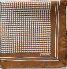$165 NWT Authentic TOM FORD 100% SILK Pocket Square Pochette Handkerchief