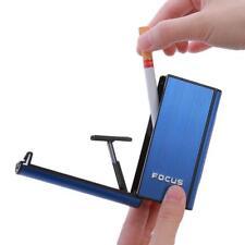 Automat Windproof Lighter Box Ejection Butane Cigarette Case Holder Dispenser N3