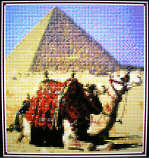 CAMEL AND PYRAMID ~ Counted Cross Stitch KIT #K889