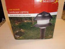 New listing Malibu 10 Garden Light Set Lx10610T25 New In Open Box