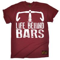 Cycling Road Life Behind Bars funny top Birthdayátee T SHIRT T-SHIRT
