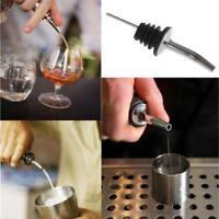 10 PCS Stainless Steel Pourer Liquor Spirit Flow Wine Bottle Pour Spout Stopper