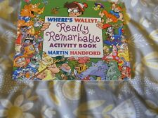 WHERE'S WALLY? REALLY REMARKABLE ACTIVITY BOOK