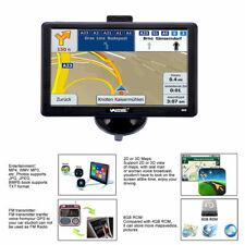 7 Inch Bluetooth SAT NAV AV-IN Navigation GPS Truck Lorry CAR Caravan 3D Map 8GB
