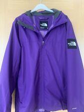 The North Face Mens Jacket Coat DryVent Medium Purple Excellent Condition