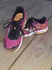 Mizuno Women's 6M Shoes Wave Creation Pink & Black Running Athletic U4ic