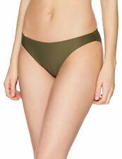 Calvin Klein Women's Classic Bikini Bottoms Green Olive Size M