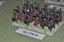 25 mm Renaissance/allemand-Reiters 12 figurines cavalerie-CAV (21740)