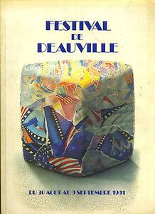 (85) Catalogue officiel Festival de Deauville 1991