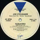 JOE STRUMMER Filibustero (1987 U.S. 3 Track Promo 12inch) * the CLASH