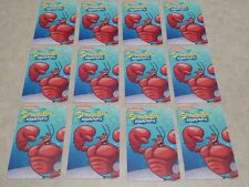 100 Larry the Lobster Cards from Spongebob Arcade Coin Pusher - No Barcode!