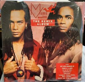 Milli Vanilli  The Remix Album LP 1990 ARISTA 8622 SEALED