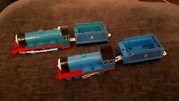 Thomas And Friends Trackmaster Gordon And Edward Battery Lot Spares Or Repair