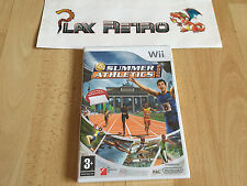 NINTENDO WII SUMMER ATHLETICS 2009 PRECINTADO PAL ESPAÑA