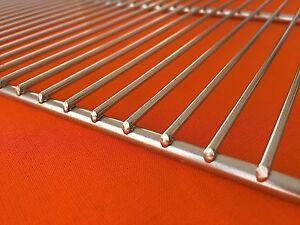 54x34 cm Rost GRILLROST EDELSTAHL EDELSTAHLGRILLROST  GRILLGITTER BBQ rechteckig