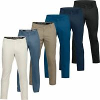 UNDER ARMOUR UA SHOWDOWN TAPERED CHINOS MENS STRETCH FLAT GOLF TROUSERS