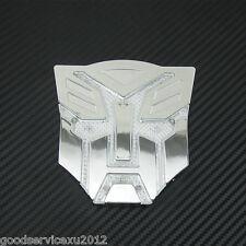 Transformers Autobots Logo Badge Solar Power LED Car Exterior Decor Flash Light