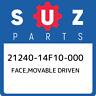 21240-14F10-000 Suzuki Face,movable driven 2124014F10000, New Genuine OEM Part