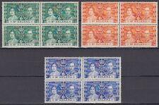 St. Helena 1937 ** Mi.94/96 Krönung Coronation King George VI & Queen [sq5926]