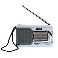 World Receiver Pocket Telescopic Radio Antenna Mini AM/FM Battery Powered