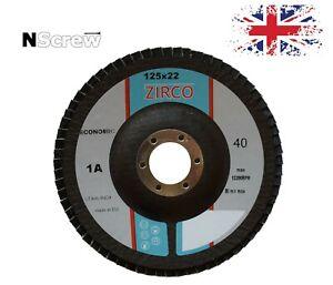 Flap Discs 125mm 5'' P40-P120 Angle Grinder Sanding Disc