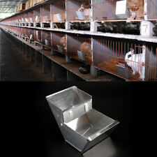 rabbit hutch trough feeder drinker bowl for rabbit farming animal equipmentTo gh