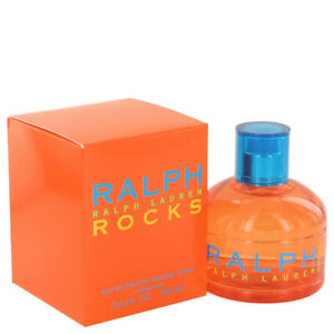 Ralph Lauren Rocks 100ml/ 3.4oz Women's EDT Spray Sealed Box Genuine Perfume