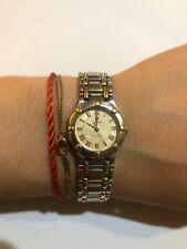 Concord Saratoga Vintage Wms Watch Ss/18k Gold Quartz