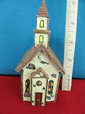 1. The Boydsville Village Collection Pastor John's Woodland Church Bear 1E/886