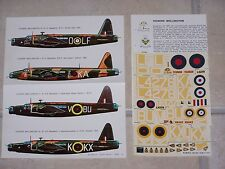 VINTAGE DECALS ESCI 1/72ème VICKERS WELLINGTON