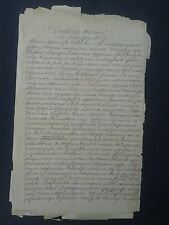 Tsarist Russia in 1909 Manuscript document.