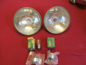 Lucas 700 Headlamps MGA Austin-Healey 100 100/6 SpriteTriumph Land-Rover Mini