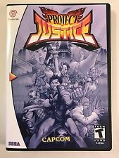 Project Justice - Sega Dreamcast - Replacement Case - No Game