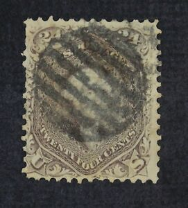 CKStamps: US Stamps Collection Scott#78 24c Washington Used Lightly Crease