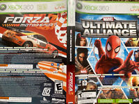Marvel Ultimate Alliance & FORZA 2 (Xbox 360 Video Game Bundle)