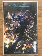Deathstroke 43 Cover B Clayton Crain Variant Signed W/COA