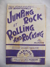 Partition Jumping Rock et Rolling and Rocking Yvan Allouche
