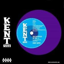 "KENNY CARTER You'd Better Get Hip Girl NEW 60s NORTHERN SOUL 45 (KENT) 7"" VINYL"