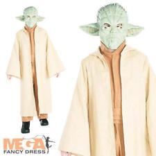 Star Wars Yoda Costume per adulti travestimento jedimeister OUTFIT COSTUME DA UOMO