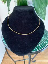 Collar de oro sólido 18 CT
