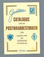 Catalogus van de Postwaardstukken van Nederland en Overzeese Rijkdelen