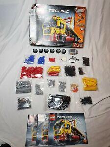 Lego 8109 Tieflader mit OVP und Anleitung 100% komplett (1)