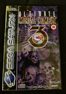 Ultimate Mortal Kombat 3 - Sega Saturn - PAL - see description